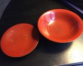 Vintage Japanese rice bowl