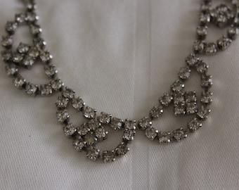 Vintage Collar Rhinestone Necklace