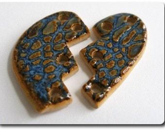 Elaine Ray Broken Heart Ceramic Bead Set