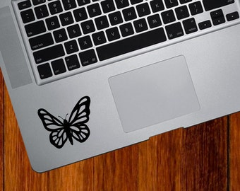 """TP - Butterfly - D1 - Vinyl Decal for Macbooks,  Laptops and More... (2.25""""w x 1.75"""") (Color Choices)"""