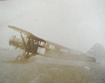 Vintage Photo - Aerol Stunt Plane - Airplane