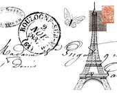 French Themed Greeting Cards