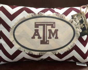 Texas A&M pillow/ aTm