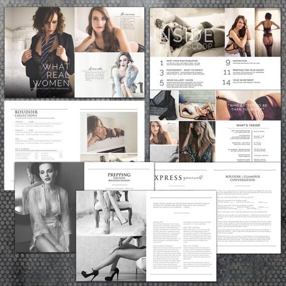 photoshop magazine templates