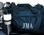 Gym Bag - Monogrammed Gym Bag - Personalized gym bag - Fitness Gift - Perfect Gift - Nylon Gym Bag - Custom Gym Bag