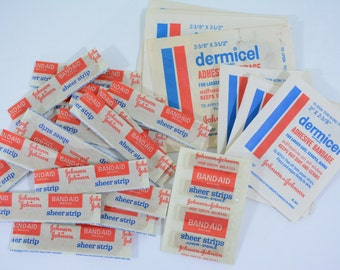 40 Mid Century Johnson & Johnson band-aids