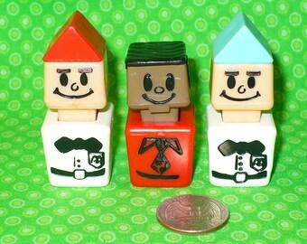 Vintage Playskool McDONALD'S FAMILIAR PLACES Replacement 3 pc Lot Little People