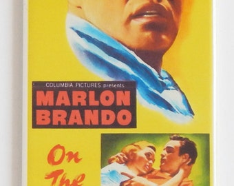 On the Waterfront Movie Poster Fridge Magnet (1.5 x 4.5 inches)