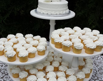Cupcake Stand, Cake Stand, Wedding Cake Stand, Wedding Cupcake Stand, Pie Stand, Dessert Stand, Wood Cupcake Stand, 3 Tier Cake Stand