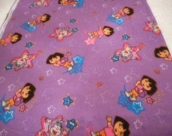 Brand New Dora Fabric 100% Cotton 36 Inches x 44 inches