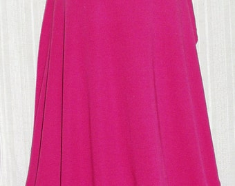 """Fabric Jersey Hot Pink Jersey Fabric By the Yard 65% Poly 35 Cotton 60"""" Wide New - Sold by the Yard"""