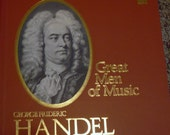 Handel Time Life Great Men of Music box set, vinyl records, classical music, Saramae Endich, opera records, Beverly Sills, Robert Shaw