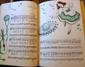 Together We Sing by Irving Wolfe and Margaret Fullerton, music textbook, California textbook,  songbook,  music instruction