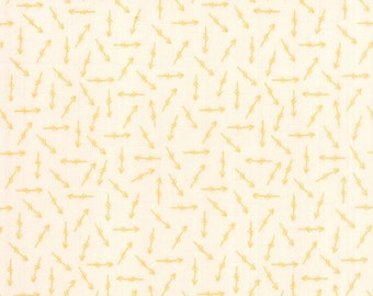 Moda - Bright Sun by Sherri & Chelsi Quilting Life - Arrow Bisque Goldenrod