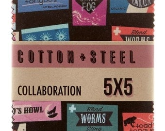 Cotton + Steel - Boo Charm Pack