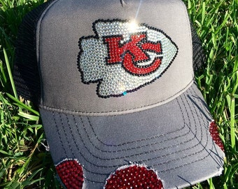 kc chiefs bling hat
