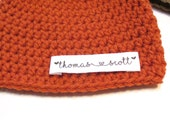 Personalized baby hat.  Newborn photography prop, pregnancy reveal, gender and name reveal.  Personalized baby gift.