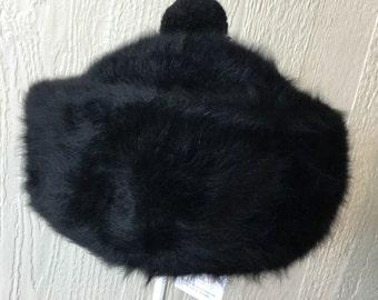 Vintage 60's Kangol Furgora Black Hat