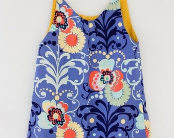 Amy Butler Handmade PInafore Smock Dress