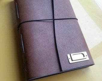 Midori Brass Plate - Journal Add on