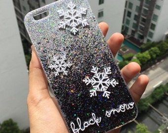 Winter Collection glitter case for Iphone 6 /6 plus,galaxy s6 edge,iPhone 5/5s,  galaxy note2/3/4/5, S3/4/5 glitter case with your name