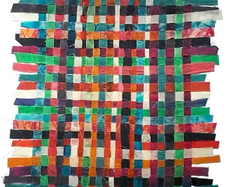 Batik Fabric Interwoven III