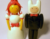 Flame Princess and Finn Toppers