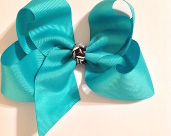 Hair Accessories/Girls Hair Bows/Large Hair Bows/Grosgrain Ribbon