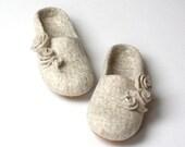 SALE US7.5, EUR38, Uk5 Women felt slippers Ready To Ship