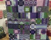 Tula Pink - Amethyst Flower Market Quilt (TP-FMAKIT) - Tula Pink for Free Spirit - 1 kit