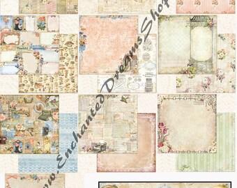 Blue Fern Studios Autumn Anthology Paper Collection