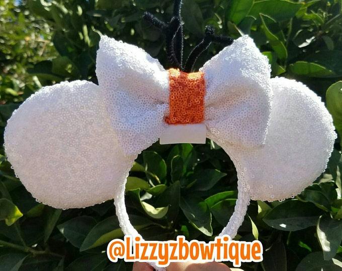 Frozen Olaf Sequin Minnie Ears