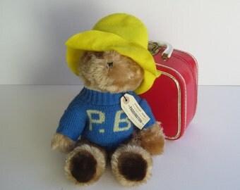 Vintage 1981 Paddington Bear Plush Toy by Eden Toys