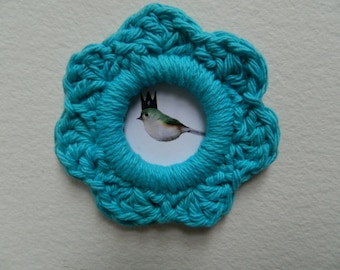 Picture crochet Frame