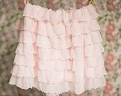 Blush Pink Ruffle Skirt | Spring skirts | Size 18 mos, 3T, 4T, 5, 6 | Ready to Ship SALE