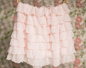 Blush Pink Ruffle Skirt | Spring skirts | Size 18 mos, 2T, 5, 6 | Ready to Ship SALE