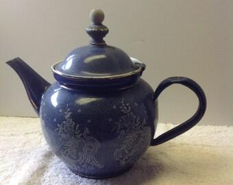 Rare Enamelware Austrian Teapot