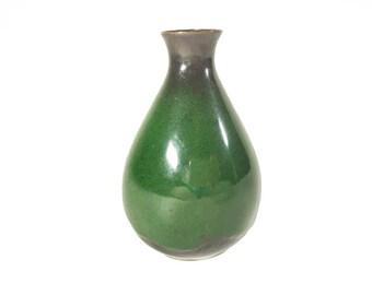 Mini Green Pottery Vase