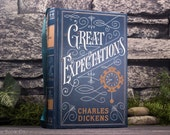 Hollow Book Safe - Great Expectations - Charles Dickens (LEATHER BOUND)