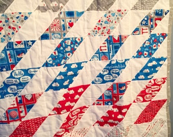 Love Letters Crib Quilt