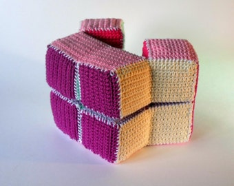 Crochet and Play, the puzzle cube