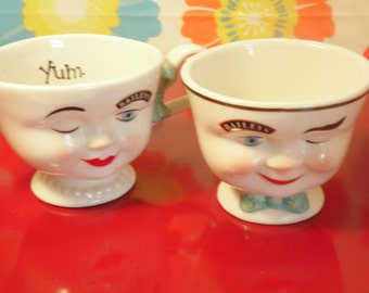 Kitsch Sugar Creamer Set Bailey's Collectible Limited Edition Vintage 1990s