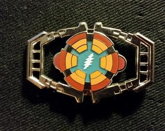 Grateful Dead/Transformers - Matrix of Leadership Pin