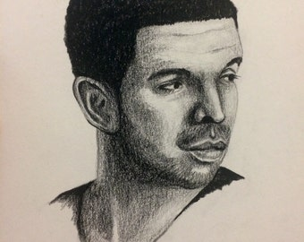 Drake Portrait Drawing