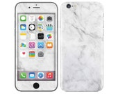 WHITE MARBLE iPhone Decal iPhone Skin iPhone Cover iPhone 6 Skin, iPhone 6 Plus Decal iPhone 6S Skin iPhone 6S Decal Cover iPhone 5 5S