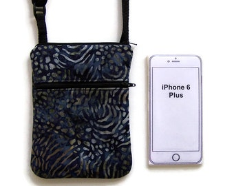 Small Purse, Cell Phone Crossbody, iPhone Case, Extra Long Strap