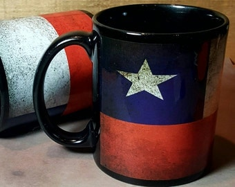 Texas Flag Mugs TX Souvenirs TX coffee cup