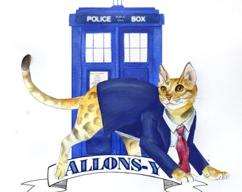 Doctor Mew: Doctor Who The 10th Doctor Cat