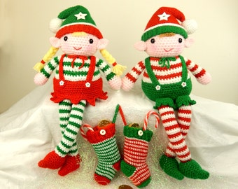 Evie and Elvis the Christmas Elves