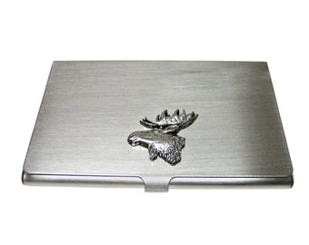 Moose Head Business Card Holder